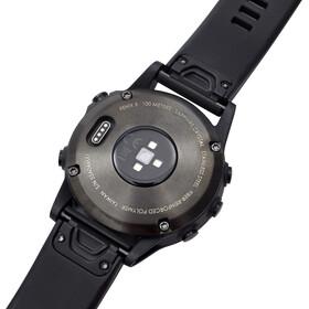 Garmin fenix 5 Saphir Performer Bundle / Premium HRM-Tri rintavyö + QuickFit , harmaa/musta